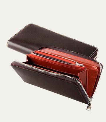 革アイテムキプリスのブライドル&ルーガショルダー 3wayビジネスバッグ