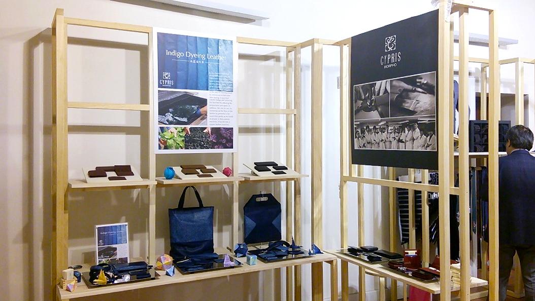 世界最大級のメンズ展示会「PITTI IMAGINE UOMO」にも出品された革シリーズ