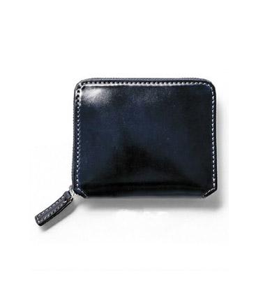 革財布キプリスのホーウィンシェルコードバン コンパクトウォレット