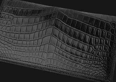 革財布キプリスのマットクロコダイル