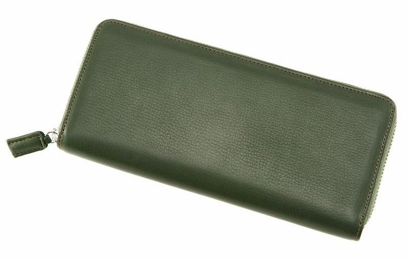 ラウンドファスナーハニーセル 長財布運気が上がる財布