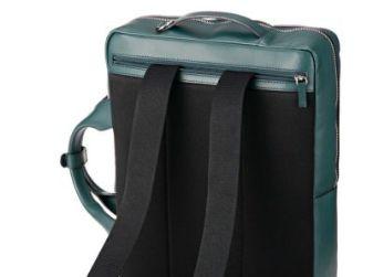 キプリスの3wayビジネスバッグ 背面は通気性の良いニット素材
