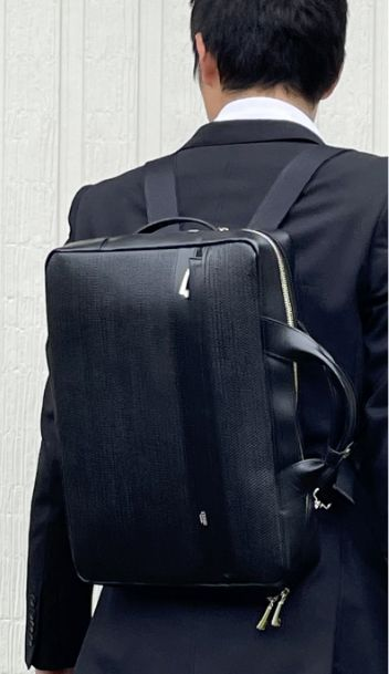 キプリスの3wayビジネスバッグ リジュートシリーズ リュック
