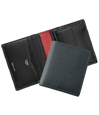 ミニ財布・コンパクト財布は革小物・革財布のCYPRIS ペルラネラのコンパクト札入れ