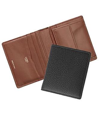 ミニ財布・コンパクト財布は革小物・革財布のCYPRIS スパークリングカーフのコンパクト札入れ