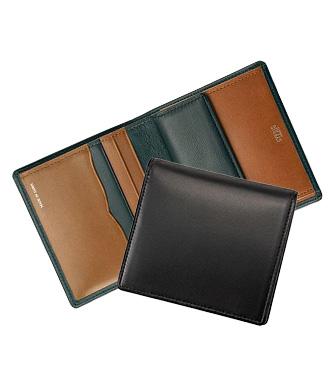 ミニ財布・コンパクト財布は革小物・革財布のCYPRIS テルヌーラのコンパクト札入れ