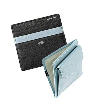 ミニ財布・コンパクト財布は革小物・革財布のCYPRIS ポケウォレのマネーフラップ
