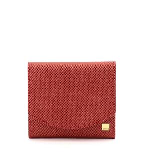 コンパクトかぶせハニーセル二つ折財布| ポン