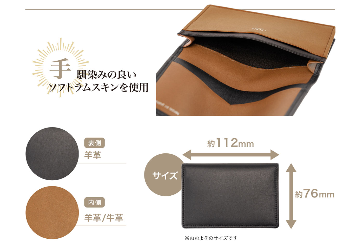 キプリス 革財布,革製品