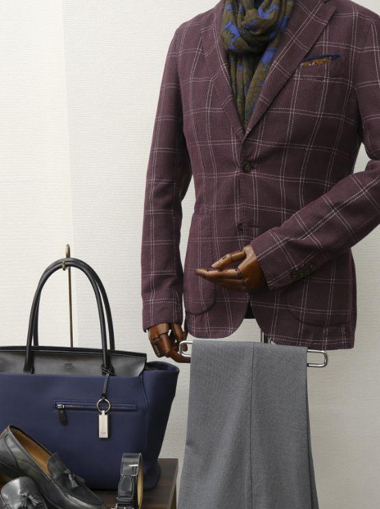 革小物・革財布のCYPRISがご提案 初秋におすすめのメンズスタイル
