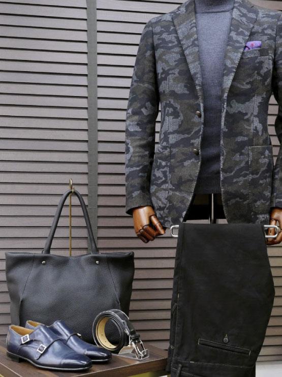 革小物・革財布のCYPRISがご提案 初秋におすすめのメンズジャケットスタイル