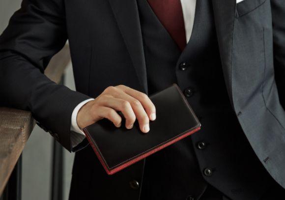 革小物・革財布のCYPRIS メンズ長財布