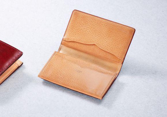 革小物・革財布のCYPRIS メンズ名刺入れ