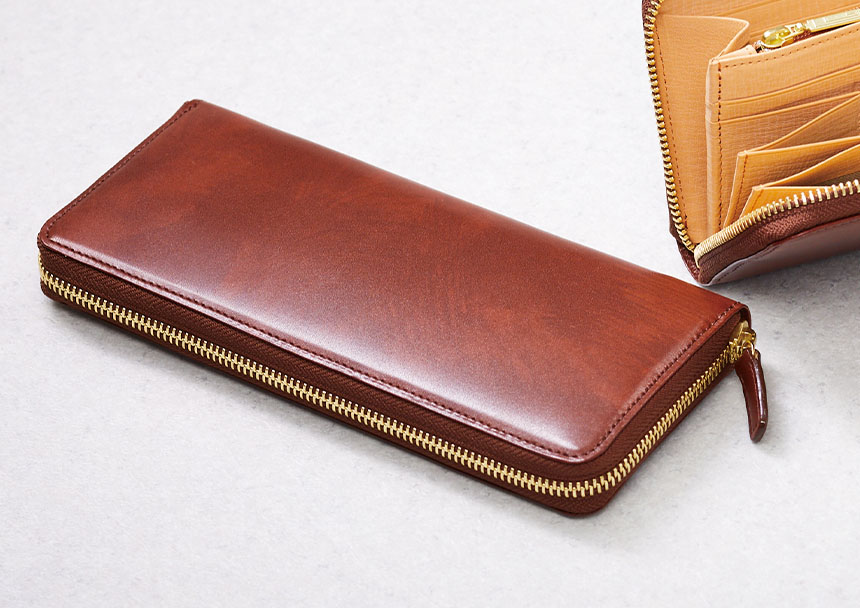 シラサギレザー(革小物・革財布のCYPRIS人気シリーズ)