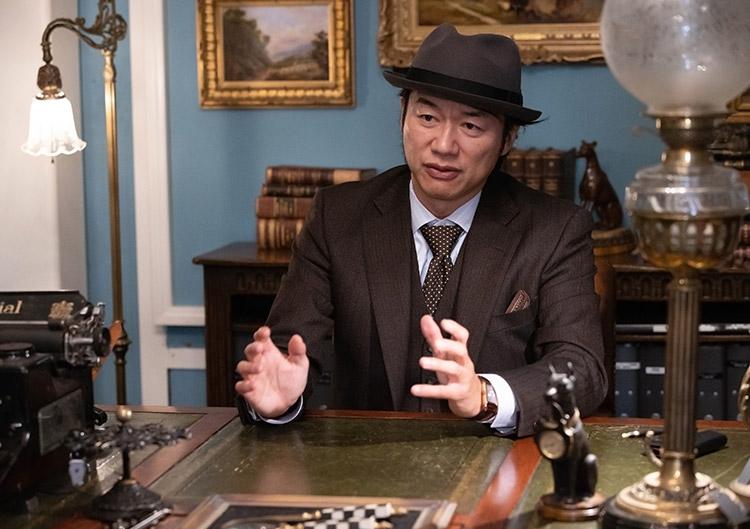 鎌倉アンティークス・代表 土橋正臣さん