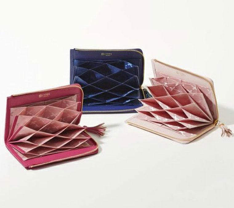 クリスマスギフト,女性向け革財布