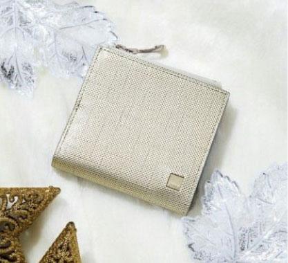 スリム&コンパクト二つ折財布| ポン
