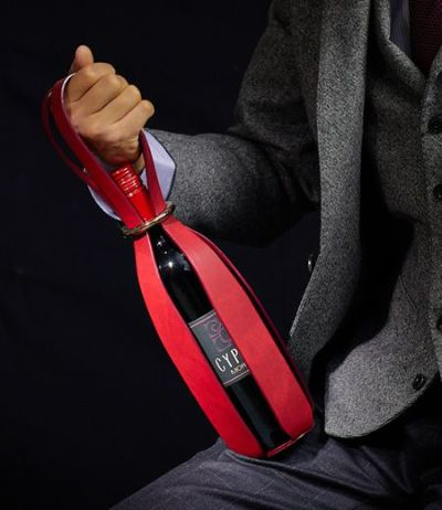 ワインボトルケース|シラサギレザー