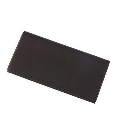 風琴マチ長財布 レーニアカーフ ブラック