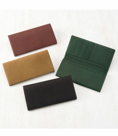 風琴マチ長財布|レーニアカーフ