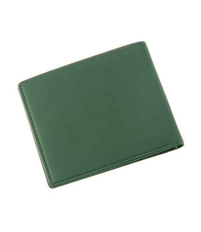 カード札入れ レーニアカーフ  グリーン