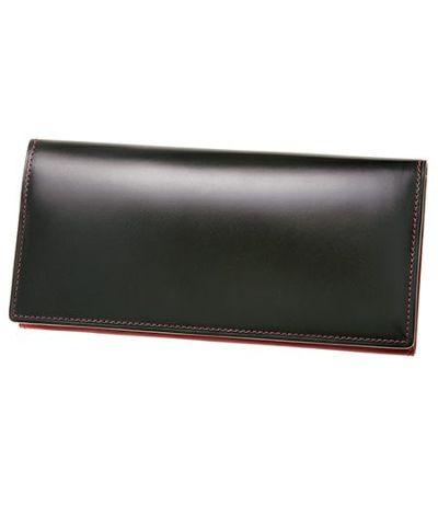 コードバン長財布 メンズ革財布