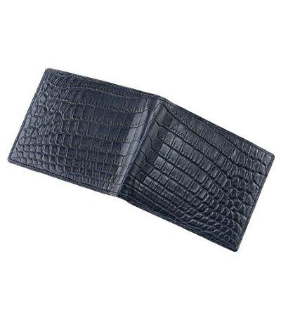 二つ折り財布(カード札入)|マットクロコダイル