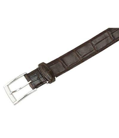 キプリスベルト(35mm幅)|マットクロコダイル