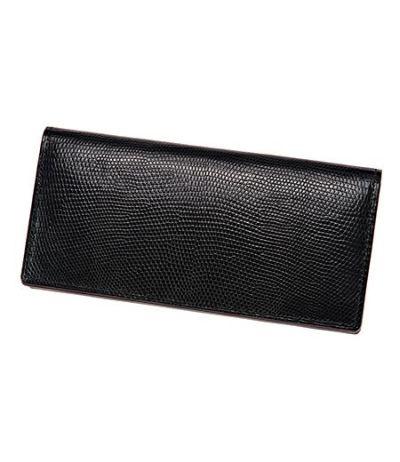 長財布(通しマチ束入) リザード