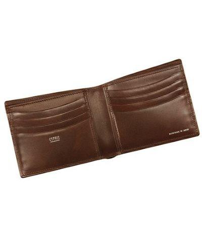 二つ折り財布(カード札入)|リザード