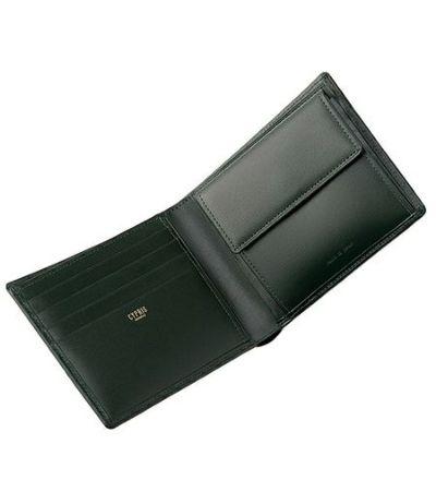 革財布メンズ,キプリス,革 二つ折り財布