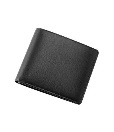 二つ折り財布(カード札入)|ボックスカーフ&リザード2