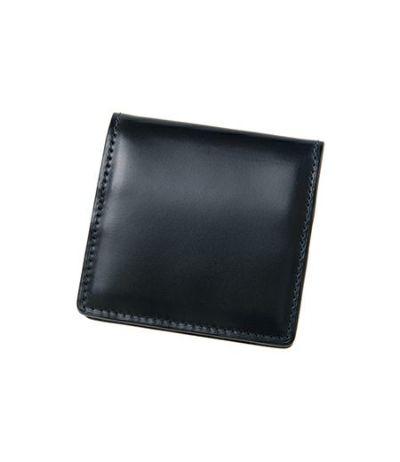 ボックス小銭入れ|コードバン&リンピッドカーフ