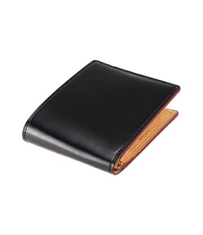 二つ折り財布(小銭入れ付き札入)|オイルシェルコードバン&ヴァケッタレザー