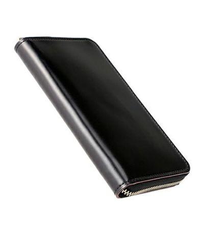 スマートフォンケース(縦150mmまで対応)|オイルシェルコードバン&ヴァケッタレザー