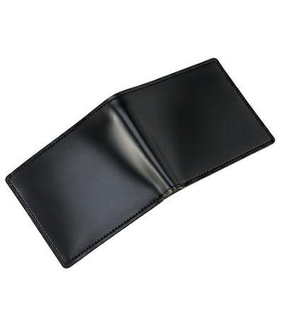 二つ折り財布(小銭入れ付き札入)|コードバン&ベジタブルタンニンレザー