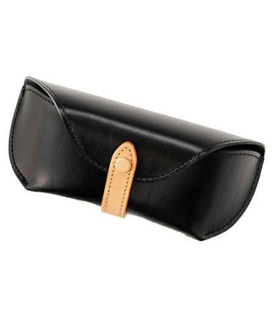 革小物 サングラス・メガネケース|ルーガショルダー&フルベジタブルタンニンレザー