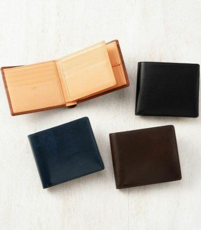 革財布,革二つ折り財布