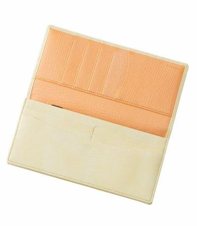 長財布(小銭入れ付き通しマチ束入)|シラサギレザー