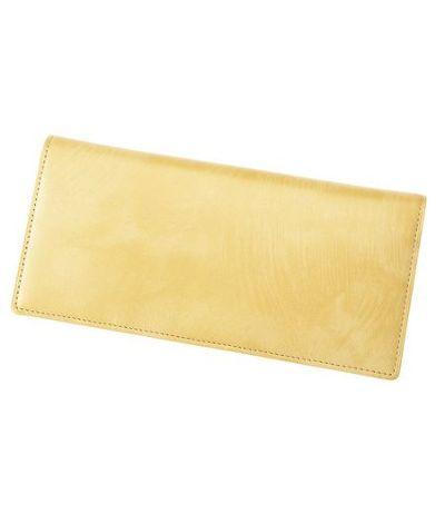 長財布(小銭入れ付き通しマチ束入) シラサギレザー