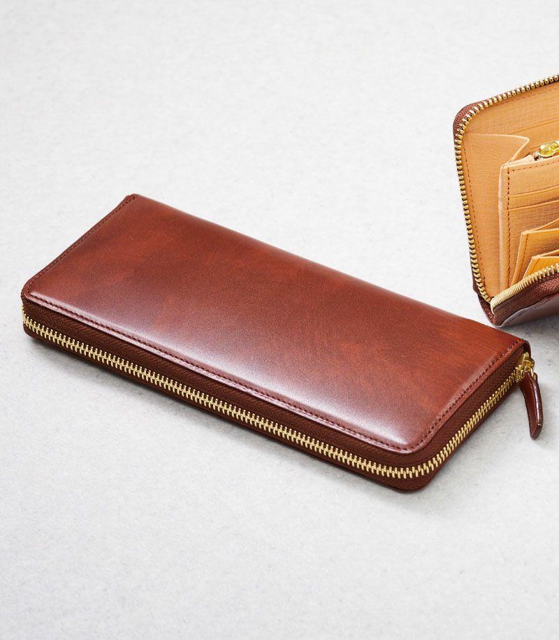 CYPRIS ラウンドファスナーハニーセル長財布 の外装画像