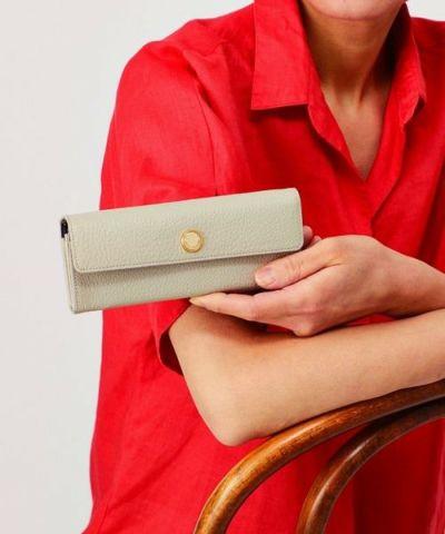 コンパクトハニーセルかぶせ長財布| エポウレット