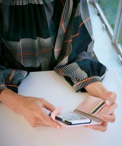 手帳型スマートフォンケース(iPhone6,6s,7,8)  エポウレット